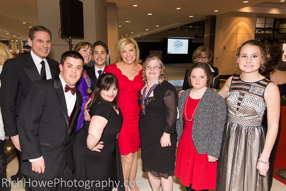 Special Olympics Athletes at 2014 First Look For Charity