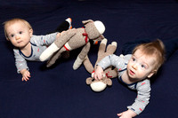 Oliver and Alastair - 9 months