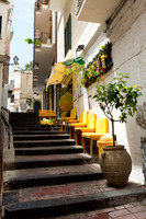 Amalfi Yellow Chairs