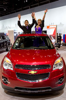 Chicago Auto Show First Look for Charity 2014 HR